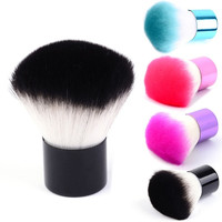 Pro Kabuki Makeup Brush Foundation Blusher Face Eyes Powder Cosmetic 4 Colors 7_S = 1916271108
