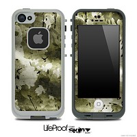 Vintage Camo Skin for the iPhone 5 or 4/4s LifeProof Case