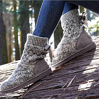 Ugg Female Fashion Wool Snow Boots Wool Shoes 4 Color