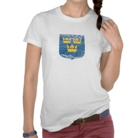 Coat of Arms of Sweden Tshirts