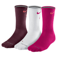 Nike Dri-FIT Cotton Fly Crew Socks (3 Pair)