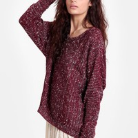 Sleeping In Oversized Sweater - New Arrivals - Clothing