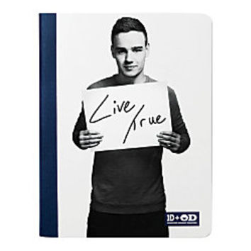 One Direction Limited Edition 1D OD Together Composition Book Liam True Navy Blue by Office Depot
