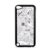 5SOS Quote cover white Ipod Touch 5 Case