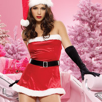 Women's Christmas Fancy Suit Costume Xmas Outfit = 4427516676