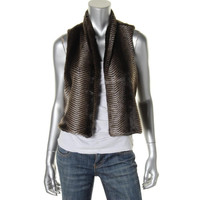 Tart Womens Faux Fir Lined Casual Vest