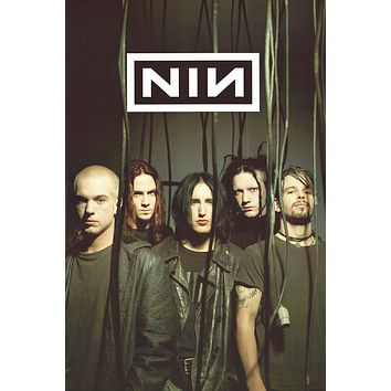 """Poster: Nine Inch Nails - Band Portrait (24""""x36"""")"""