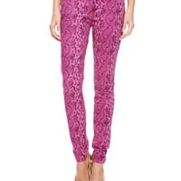 Printed Python Skinny by Juicy Couture