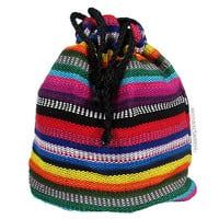 Guatemalan Drawstring Pouch on Sale for $7.00 at The Hippie Shop