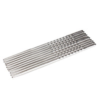 5 Pairs\Pack Stainless Steel Chopsticks Anti-skip Thread Style Durable Free Shipping
