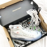 OFF White x Converse Chuck Taylor 1970s OW Sneakers