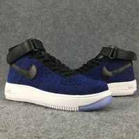 Women's and men's nike air force FLYKNIT cheap nike shoes a115