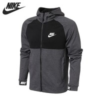 Original New Arrival 2018 NIKE NSW AV15 HOODIE FZ FLC Men's Jacket Hooded  Sportswear