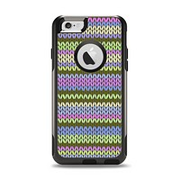 The Colorful Knit Pattern Apple iPhone 6 Otterbox Commuter Case Skin Set