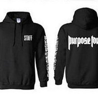 Justin Bieber/ Staff - Purpose Tour / VFILES Pop Up Shop  Sweatshirt /Hoodie