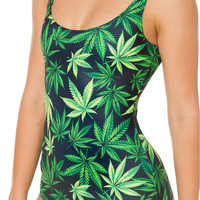 Women's Marijuana One Piece