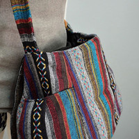 Hippie messenger bag, Nepali, Hmong, Camera, Boho, Purse, Handbag - MN103
