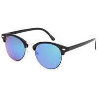 Blue Crown Al Club Classic Sunglasses Black One Size For Men 26452510001