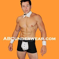 Men's Short with Bow Tie and Cuffs
