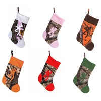 Browning Camo Buckmark Christmas Stocking