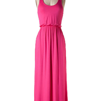 Pretty in Pink Maxi Dress - Last One!