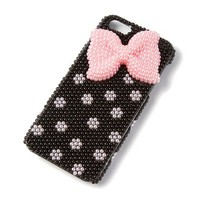 Pink Pearl Bow iPhone 5 Cover   | Claire's
