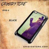 Hello Bear For Ipod 4 Case Gift Present - Multiple Choice Material