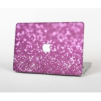 "The Pink Unfocused Glimmer Skin Set for the Apple MacBook Pro 13"" with Retina Display"