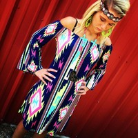 She was a gypsy dress, tribal, tribal dress, dress, maxi dress, boutique clothing, clothing, off the shoulder dresses, off the shoulder tops, boutique clothing, clothing, boutiques in Huffman, Huffman, Huffman texas::Frogstones