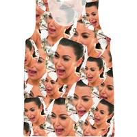 Crying Kim Tank Top