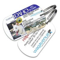 Idaho Driver's License Pet Tag