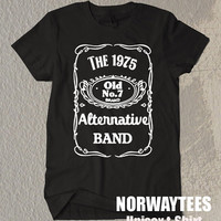 The 1975 Band Shirt Alternative Band Symbol Printed on White and Black t-Shirt For Men Or Women Size TS 63