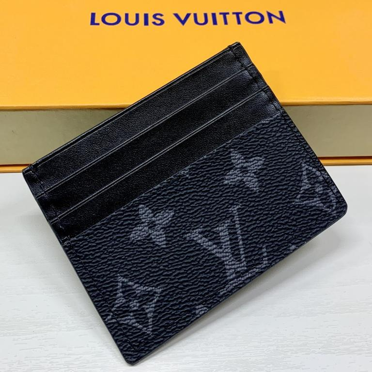 Image of LV Louis Vuitton letter print stitching color cartoon bag small wallet Bag