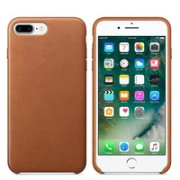 With Logo Luxury PU Leather Mobile Phone Case for iphone 7 8 Plus X 5 5S SE for iPhone 7 6 6s Plus Leather case back cover
