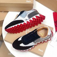 Christian Louboutin Casual Breathable Stylish Sneakers-10