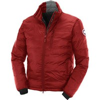 Canada Goose Lodge Down Jacket - Men's Red/Black, XS
