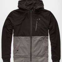 Rip Curl Mf Blockout Anti-Fleece Mens Jacket Charcoal  In Sizes