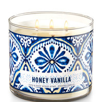 Honey Vanilla 3-Wick Candle | Bath And Body Works