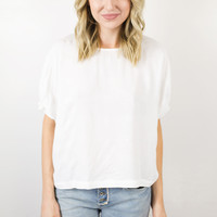 Little Things Textured Blouse