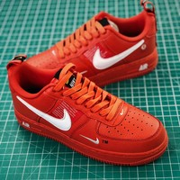 Nike Air Force 1 07 Lv8 Utility Pack Low Af1 Red Fashion Shoes - Best Online Sale
