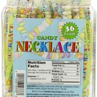 Smarties Candy Necklace, 36 Count