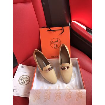 HERMES2021Women Casual Shoes Boots fashionable casual leather0512cc