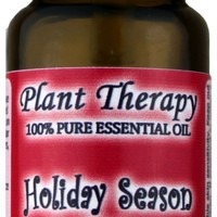 Holiday Season Synergy Essential Oil Blend. 10 ml. 100% Pure, Undiluted, Therapeutic Grade. (Blend of: Sweet Orange, Cinnamon Bark, Ginger and Nutmeg) ...