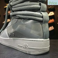 How To Buy Nike Special Forces Air Force 1 Boots High Rattan Bule AA1128-201 Mens Womens Casual Shoes Sneakers shoe