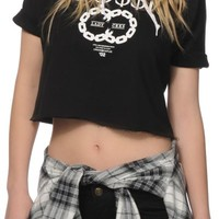 Crooks and Castles Bossi Cropped Hoodie