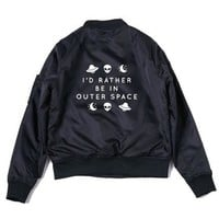 Rather Be In Outer Space Bomber