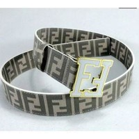 MENS FENDI LEATHER BELT