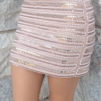 Cry Your Heart Out Skirt: Multi