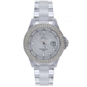 Toy Watch White Mother of Pearl Dial Unisex Watch 1013WHP