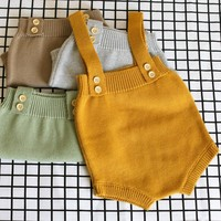 New Fashion Baby Knitwear Newborn Unisex Kids Woolen Rompers Infant Knitted Romper For Baby Jumpsuit Boys Girls Clothes  0-24M